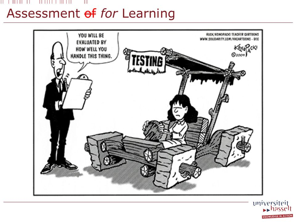 Assessment of for Learning