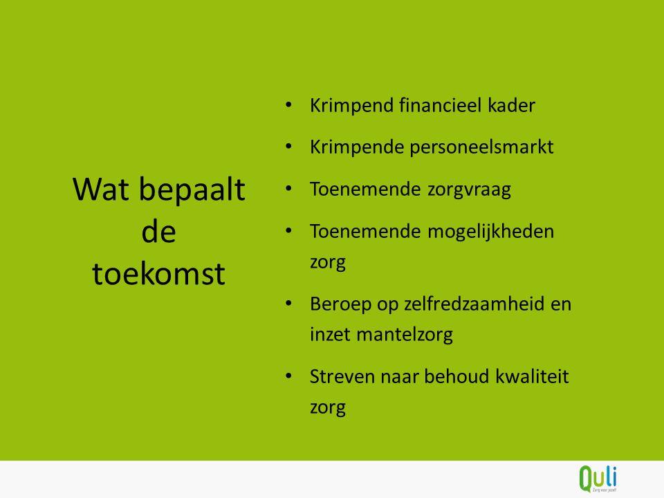Wij willen Nederland aantoonbaar zelfredzaam maken!