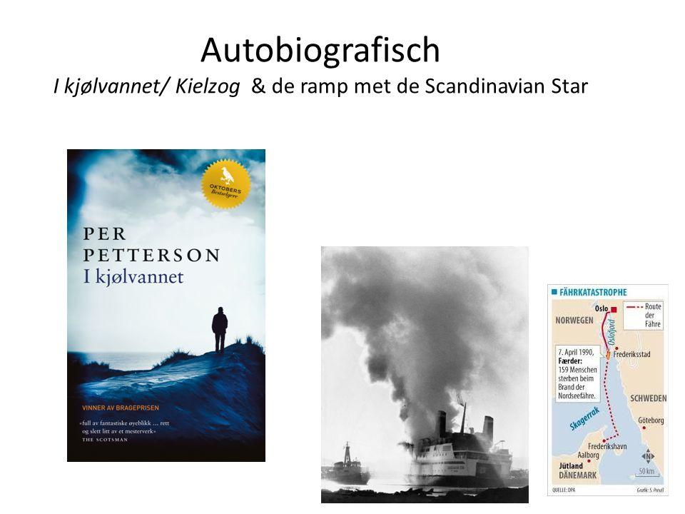 Autobiografisch I kjølvannet/ Kielzog & de ramp met de Scandinavian Star