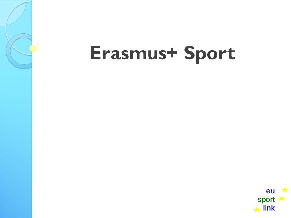 Erasmus+ Sport
