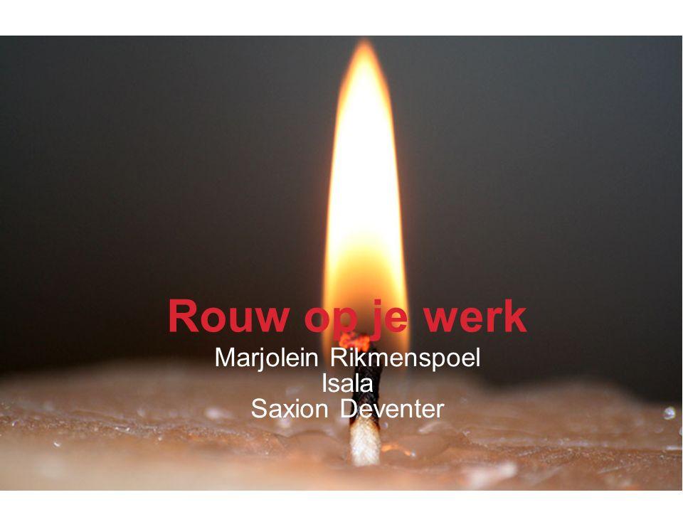 Isala Rouw op je werk Marjolein Rikmenspoel Isala Saxion Deventer