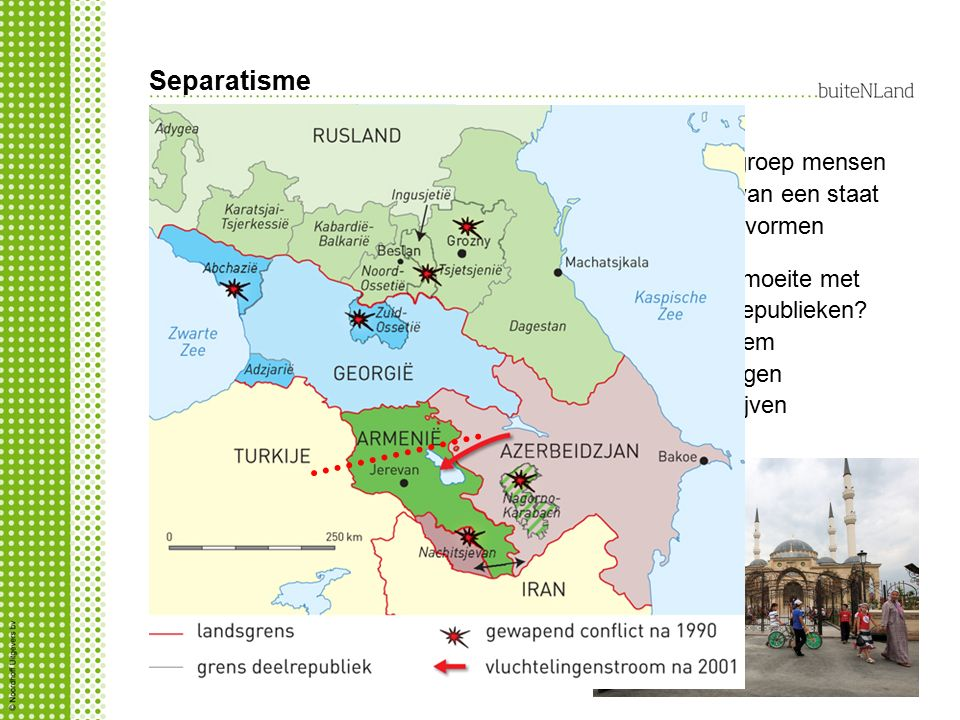 Separatisme Waarom heeft Rusland moeite met separatisme van (deel)republieken.
