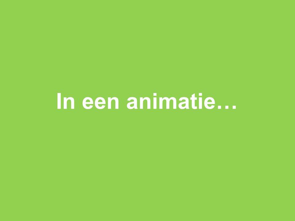 In een animatie…