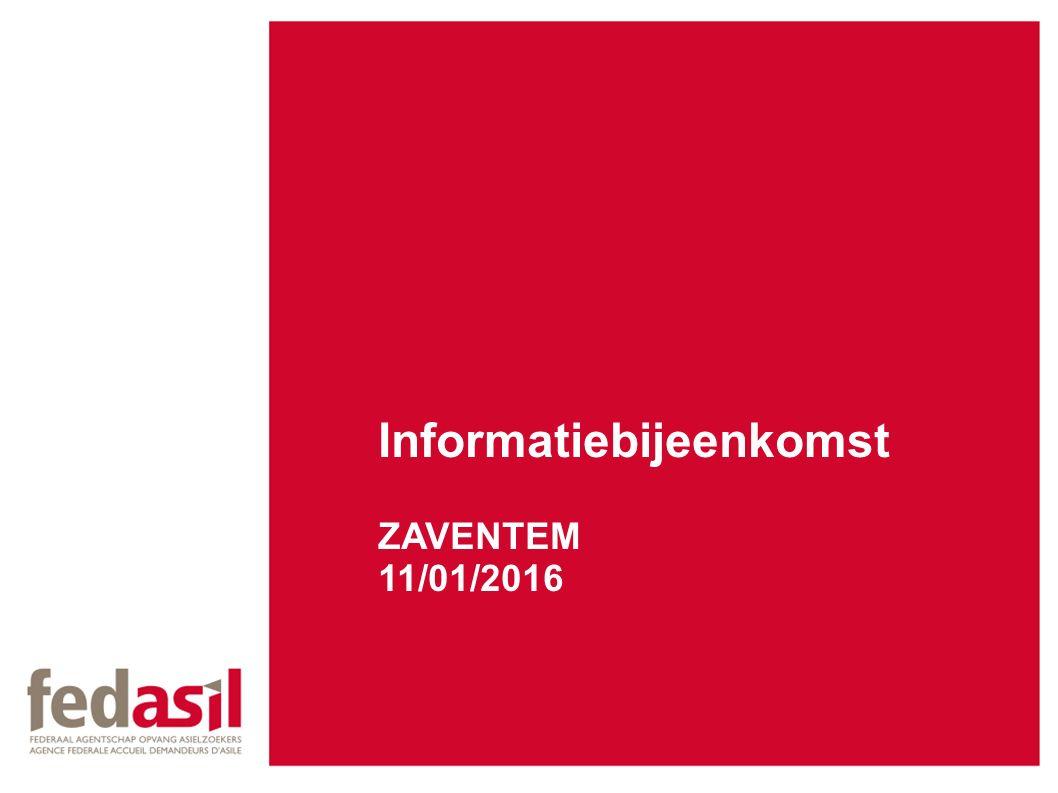 Informatiebijeenkomst ZAVENTEM 11/01/2016