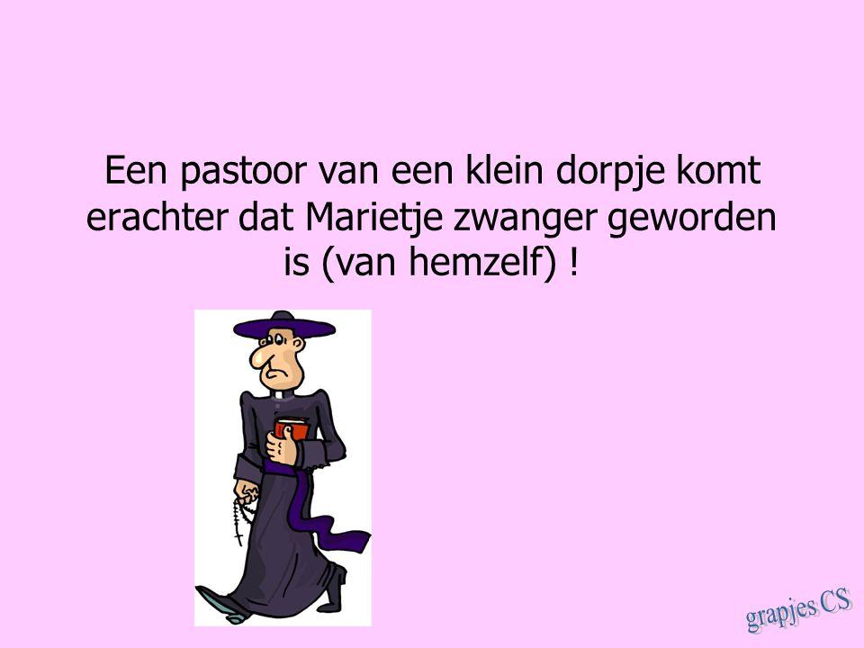 Een pastoor van een klein dorpje komt erachter dat Marietje zwanger geworden is (van hemzelf) !