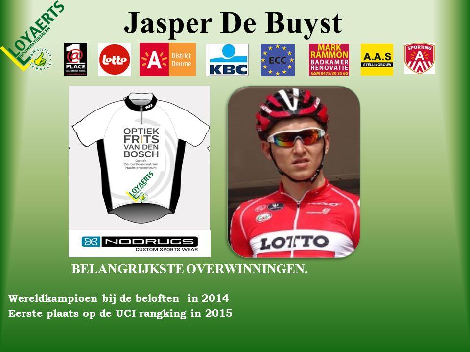 Jasper De Buyst BELANGRIJKSTE OVERWINNINGEN.