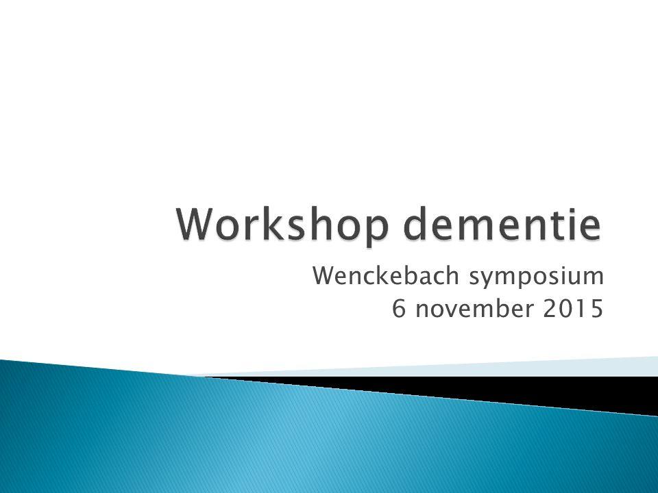 Wenckebach symposium 6 november 2015