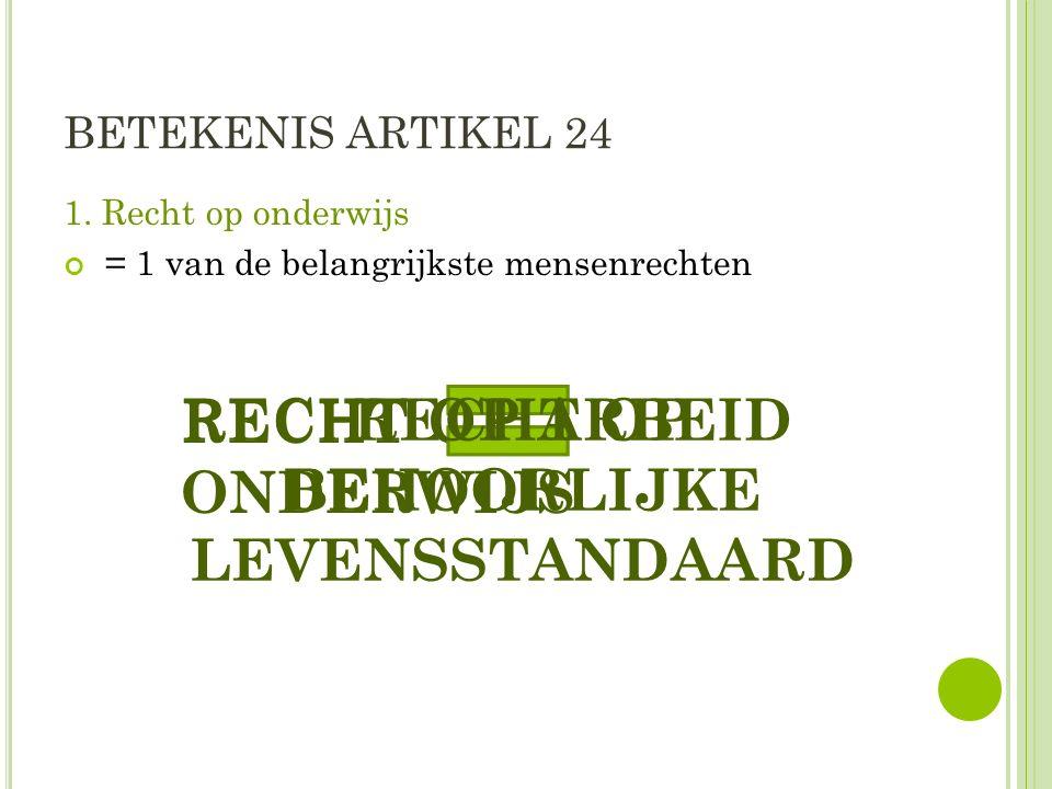 BETEKENIS ARTIKEL 24 1.