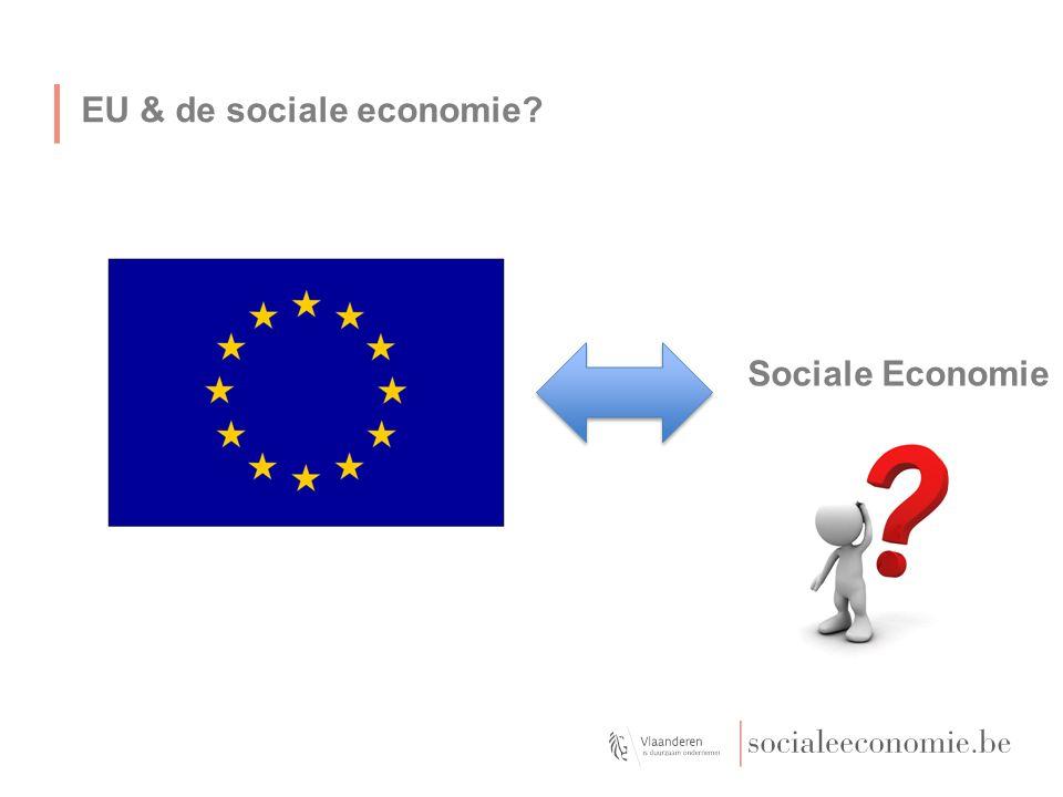 EU & de sociale economie? Sociale Economie