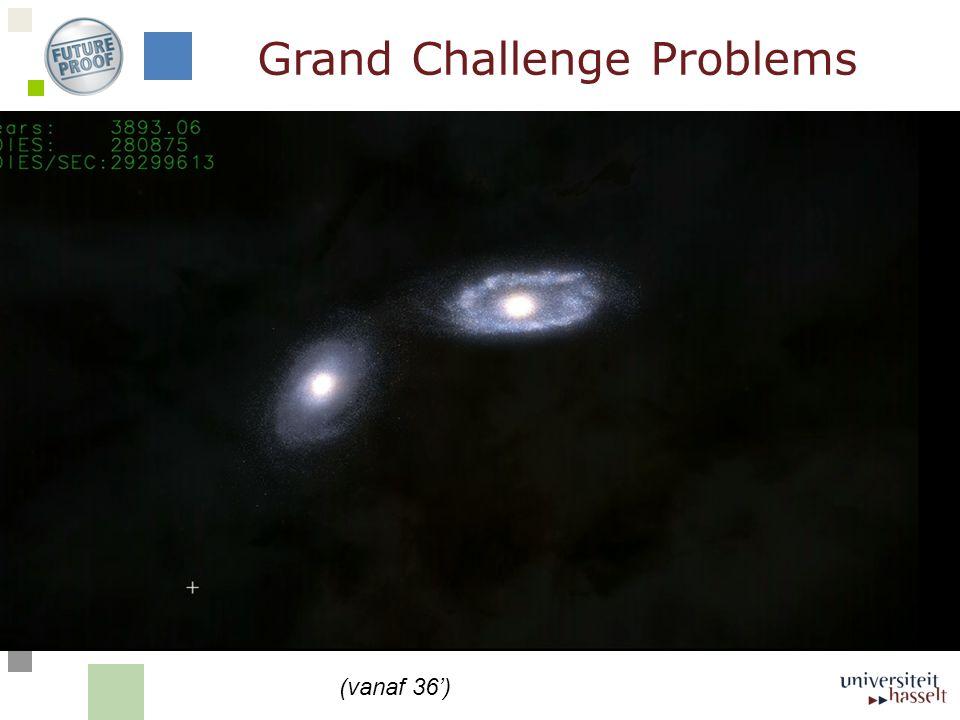 Grand Challenge Problems (vanaf 36')