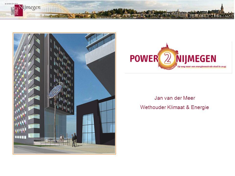 Jan van der Meer Wethouder Klimaat & Energie