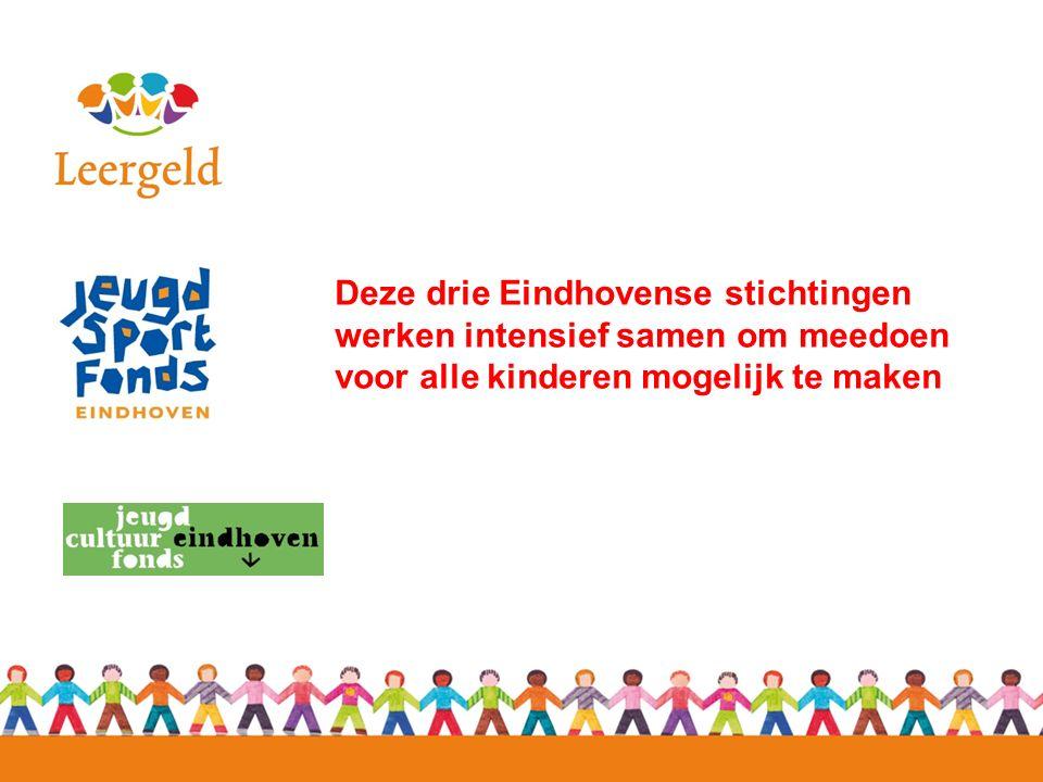Deze drie Eindhovense stichtingen werken intensief samen om meedoen voor alle kinderen mogelijk te maken