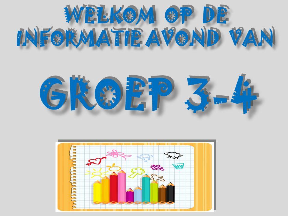 WELKOM OP DE INFORMATIE AVOND VAN GROEP 3-4