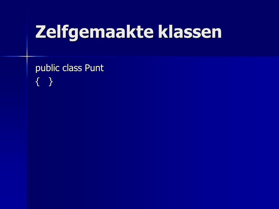 public class Punt { }
