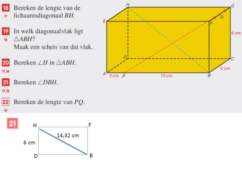 D B F H 6 cm 14,32 cm