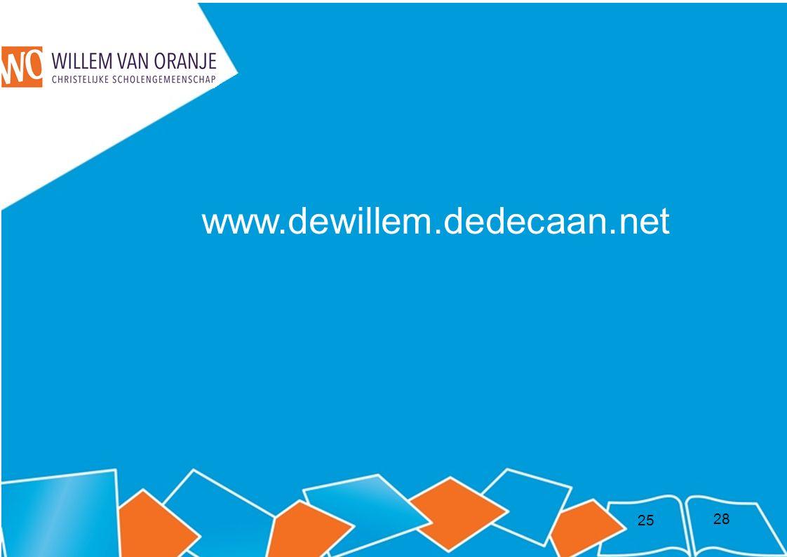 25 www.dewillem.dedecaan.net 28