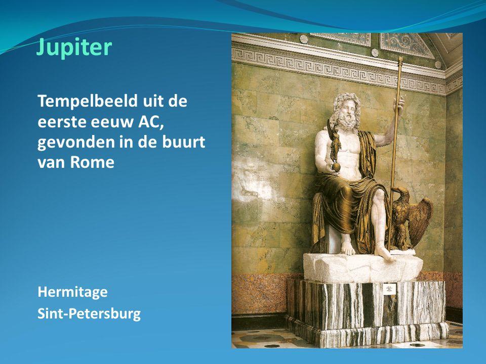 Jupiter Tempelbeeld uit de eerste eeuw AC, gevonden in de buurt van Rome Hermitage Sint-Petersburg