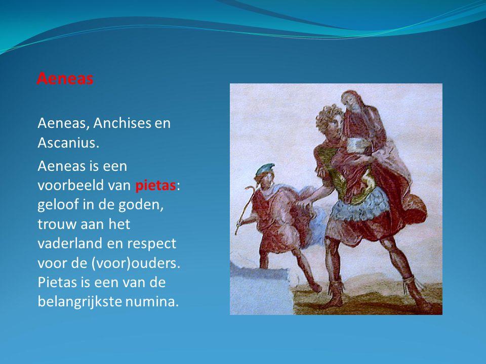 Aeneas Aeneas, Anchises en Ascanius.