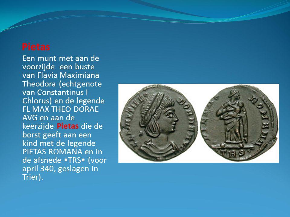 Justitia en Clementia De godin Justitia is de personificatie van de numen gerechtigheid.