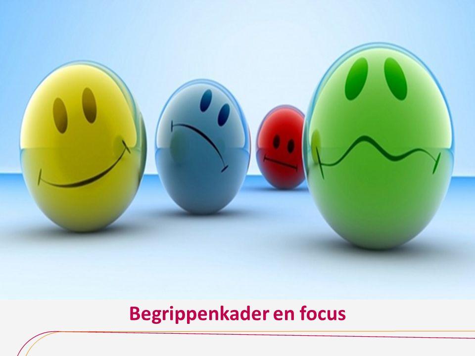Begrippenkader en focus