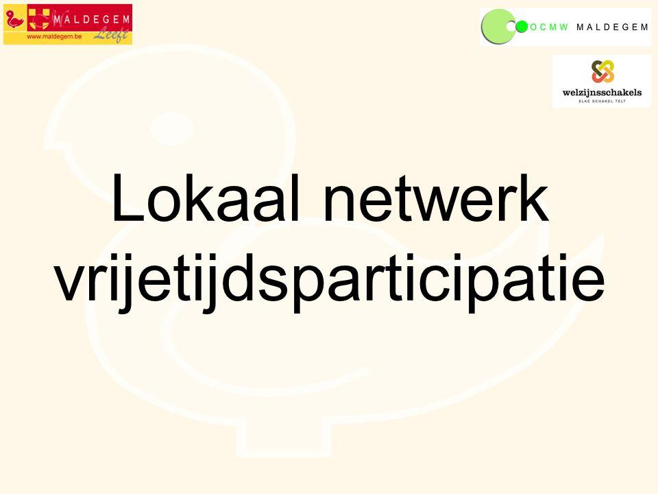 Lokaal netwerk vrijetijdsparticipatie
