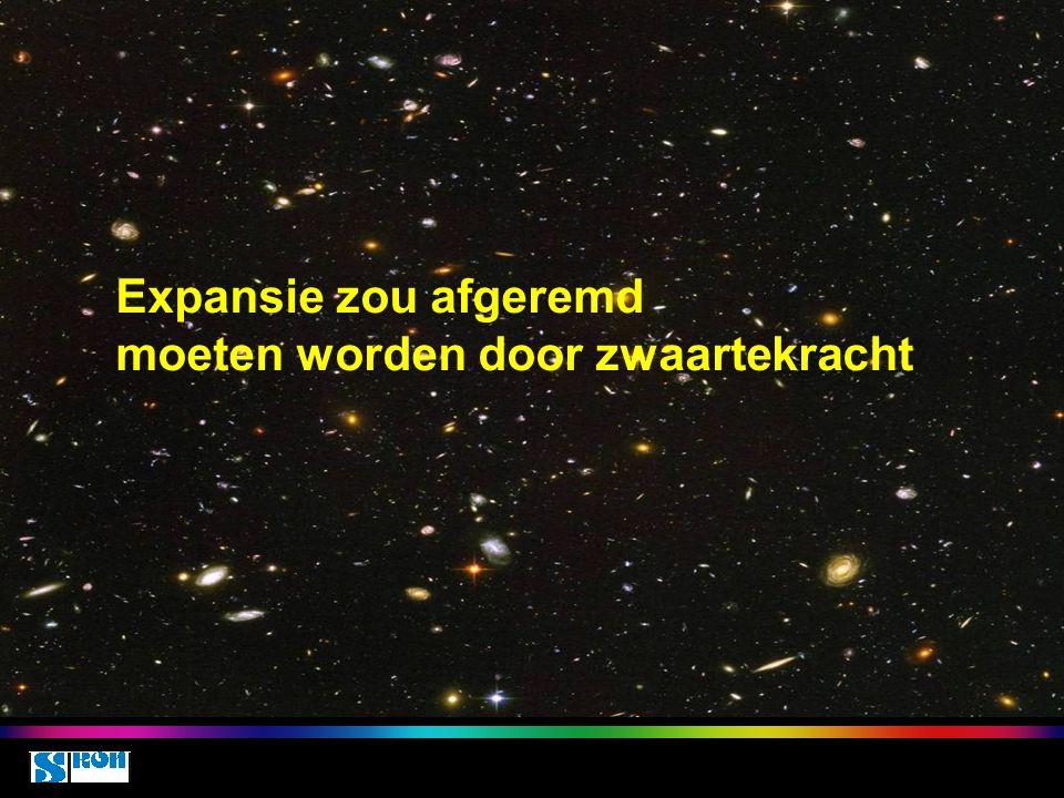 Space class 5 oct 2010 Expansie zou afgeremd moeten worden door zwaartekracht
