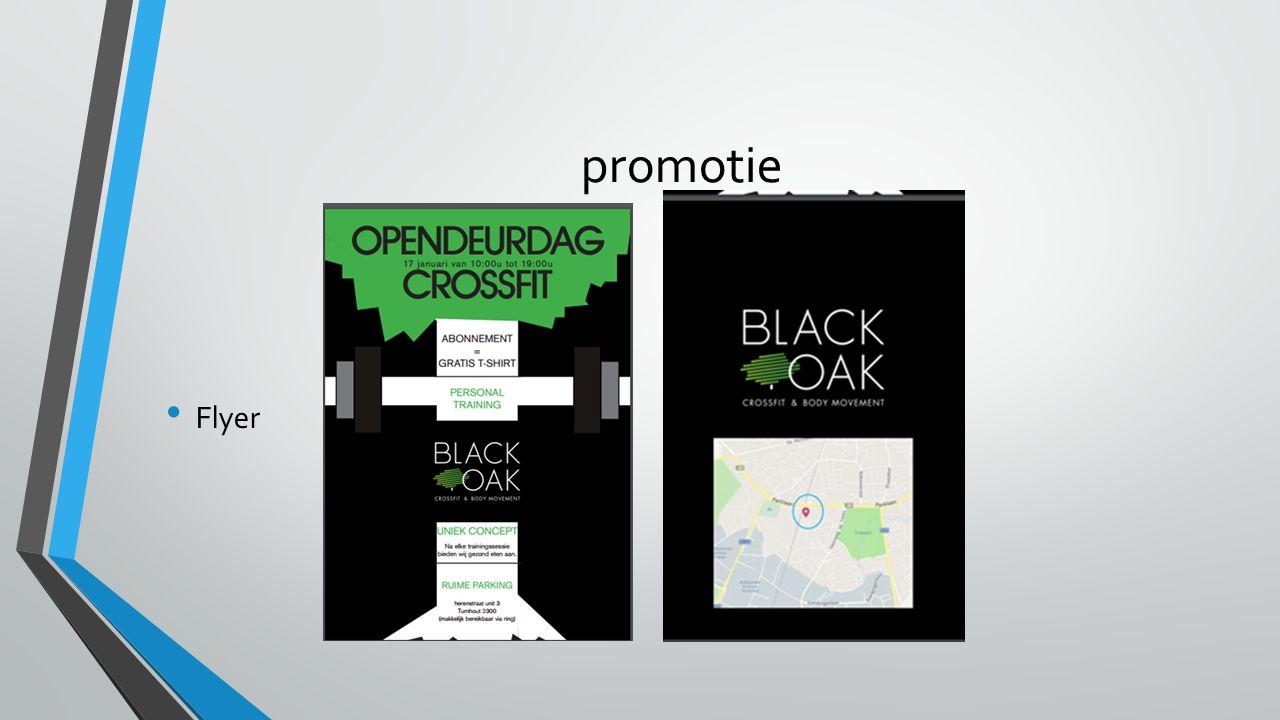 promotie Flyer