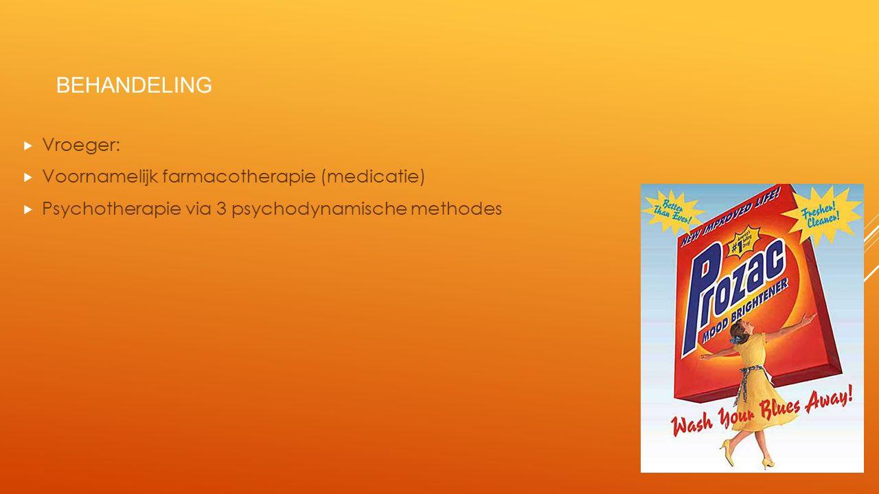 PSYCHODYNAMISCHE BEHANDELINGSMETHODES 1.