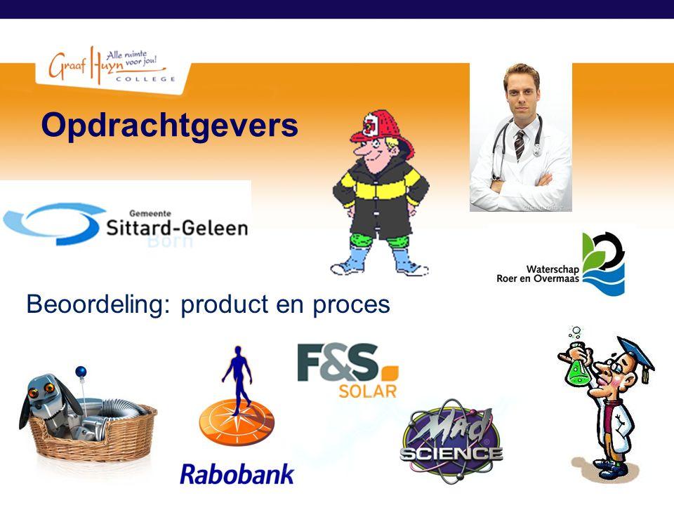 Opdrachtgevers Beoordeling: product en proces