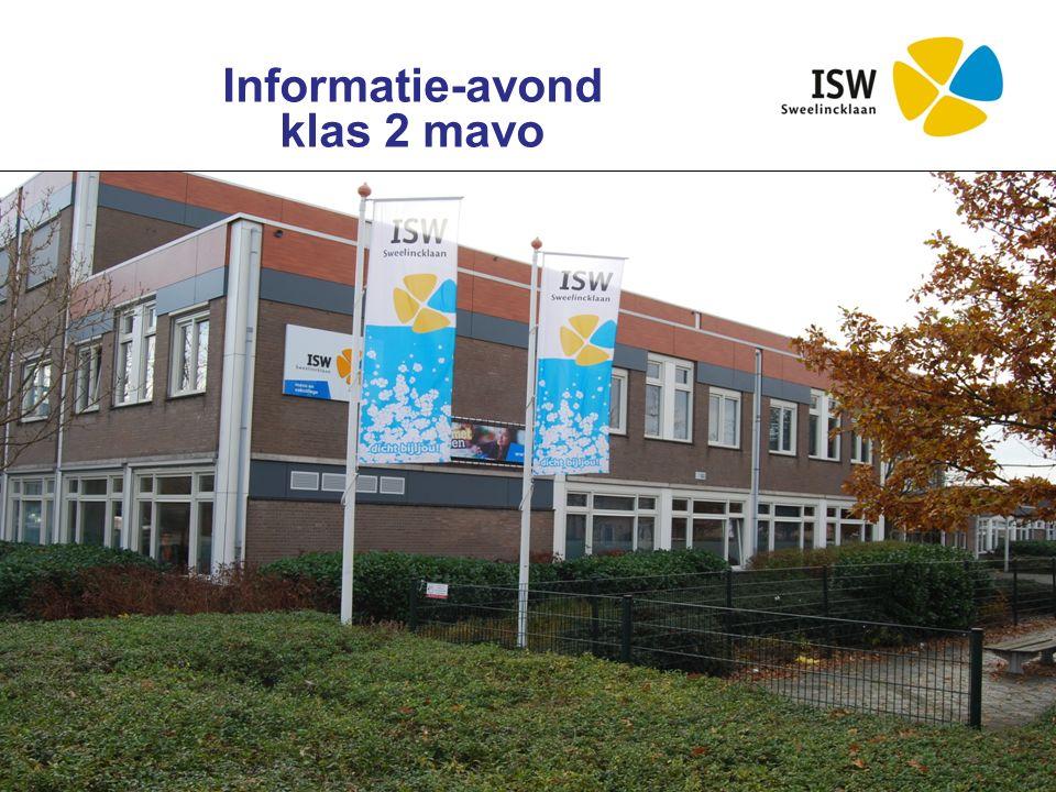 Interconfessionele Scholengroep Westland Informatie-avond klas 2 mavo