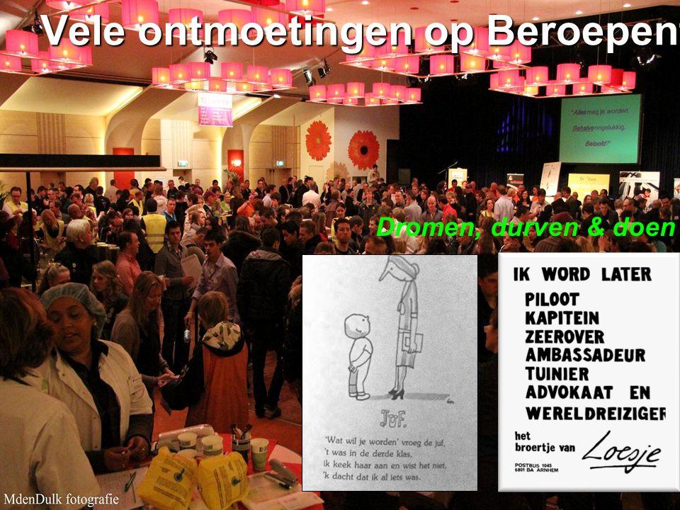 ISW Sweelincklaan Dromen, durven & doen Vele ontmoetingen op Beroepenfeest