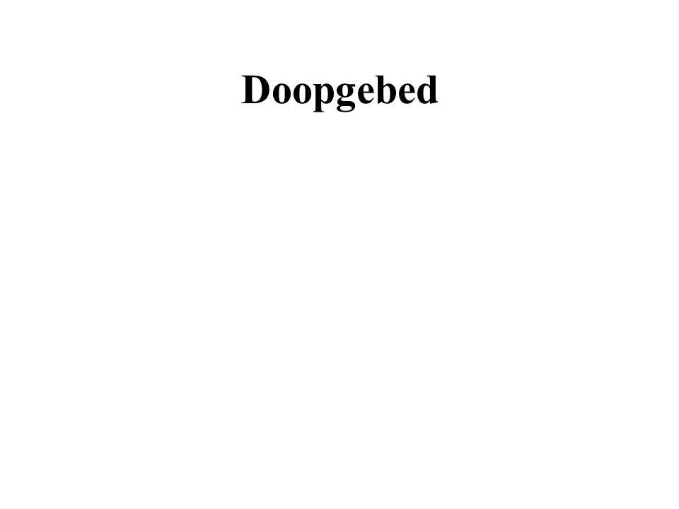 Doopgebed