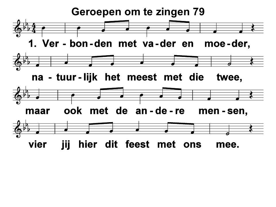 Geroepen om te zingen 79