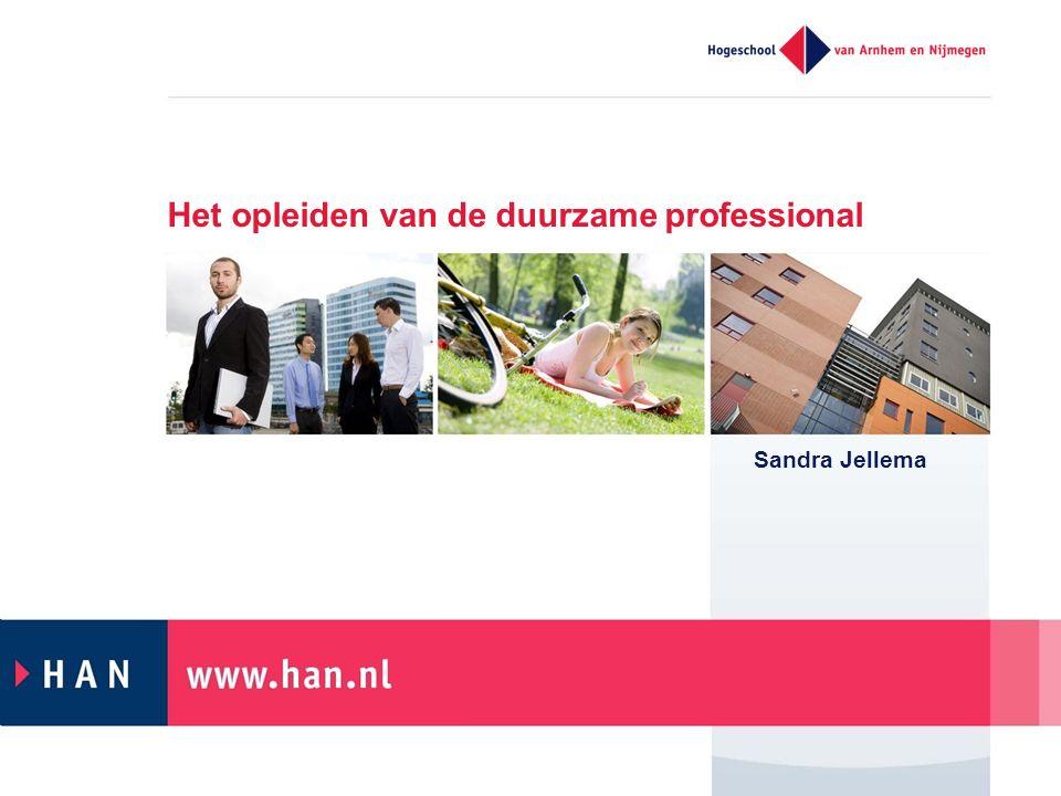 Sandra Jellema Het opleiden van de duurzame professional
