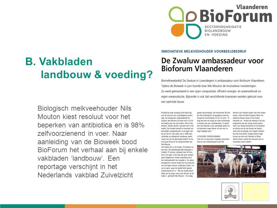 Biologisch melkveehouder Nils Mouton kiest resoluut voor het beperken van antibiotica en is 98% zelfvoorzienend in voer.