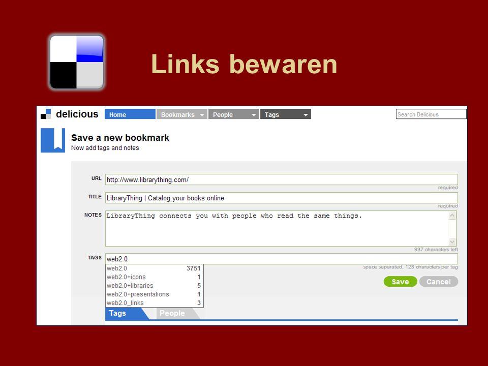 Links bewaren