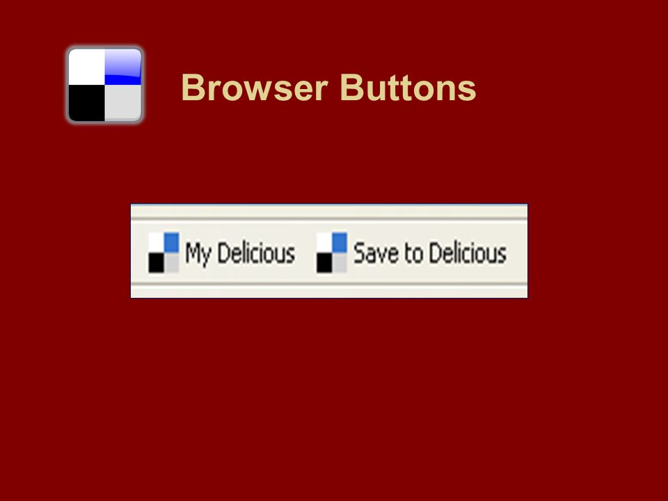 Browser buttons