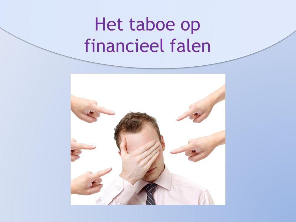 Het taboe op financieel falen