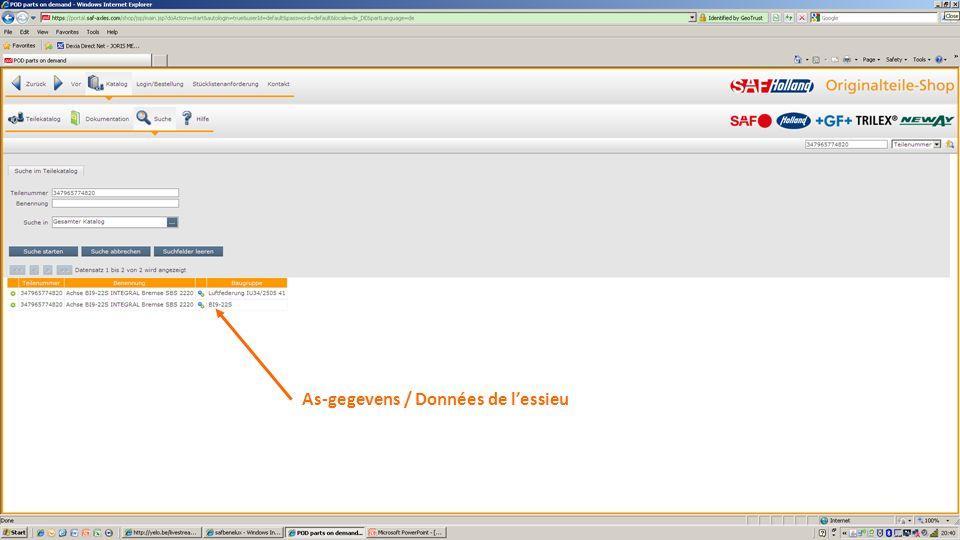 Versturen ZONDER klantnummer !! Envoyer SANS numéro de client !!