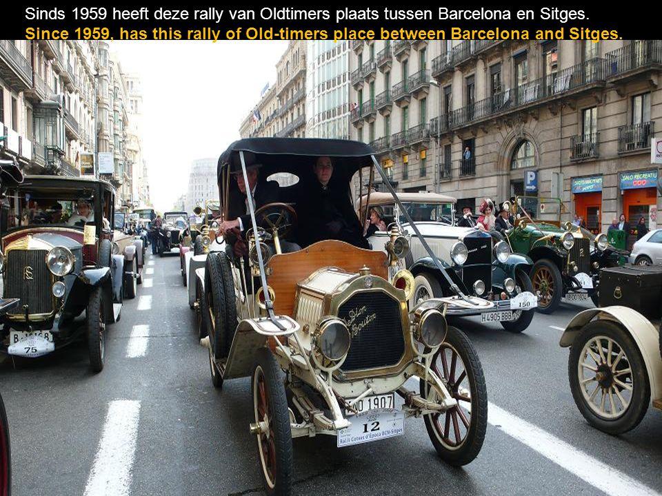 Sinds 1959 heeft deze rally van Oldtimers plaats tussen Barcelona en Sitges.