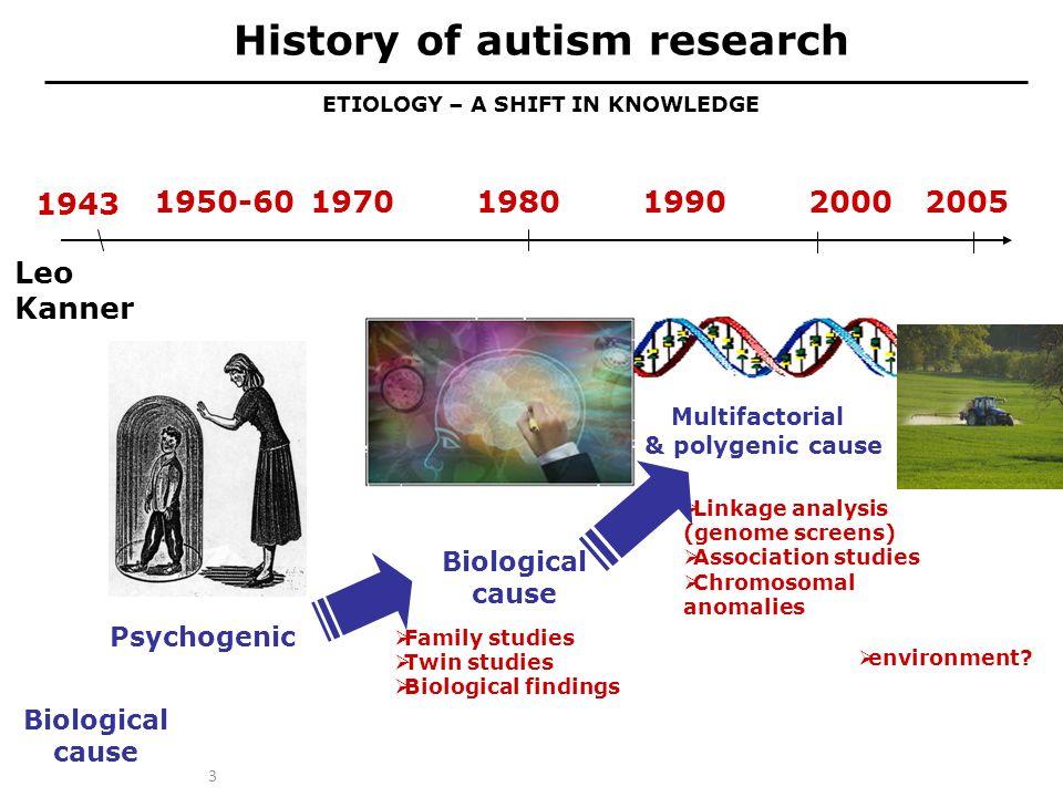 Waarom denken we bij autisme aan biologische oorzaken.