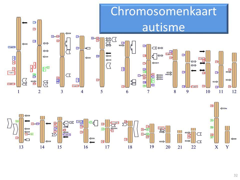 Chromosomenkaart autisme 32