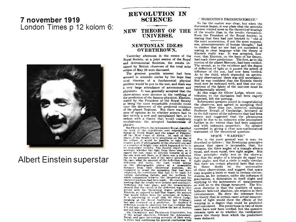 1922 Nobelprijs (van 1921) voor zijn verklaring van het foto-elektrisch effect.