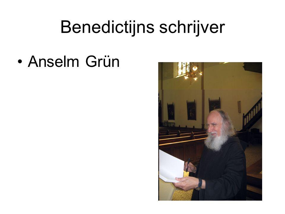Benedictijns schrijver Anselm Grün