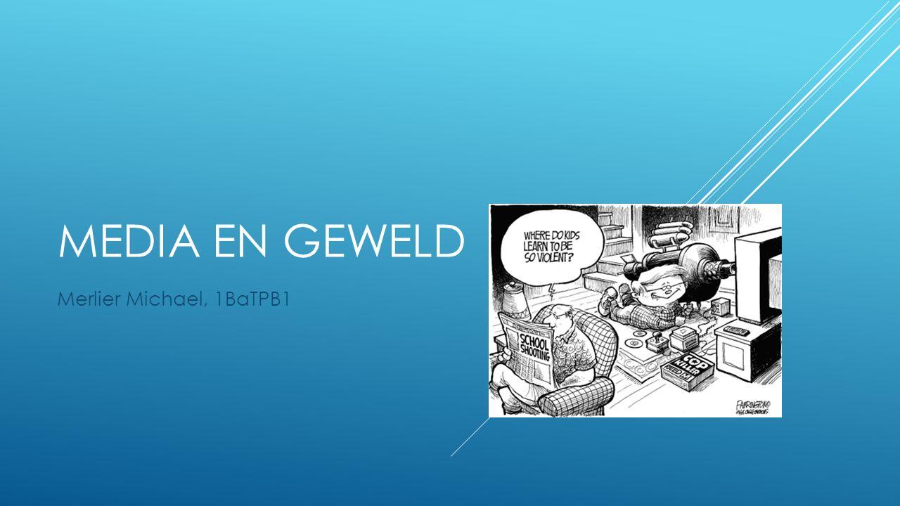 MEDIA EN GEWELD Merlier Michael, 1BaTPB1