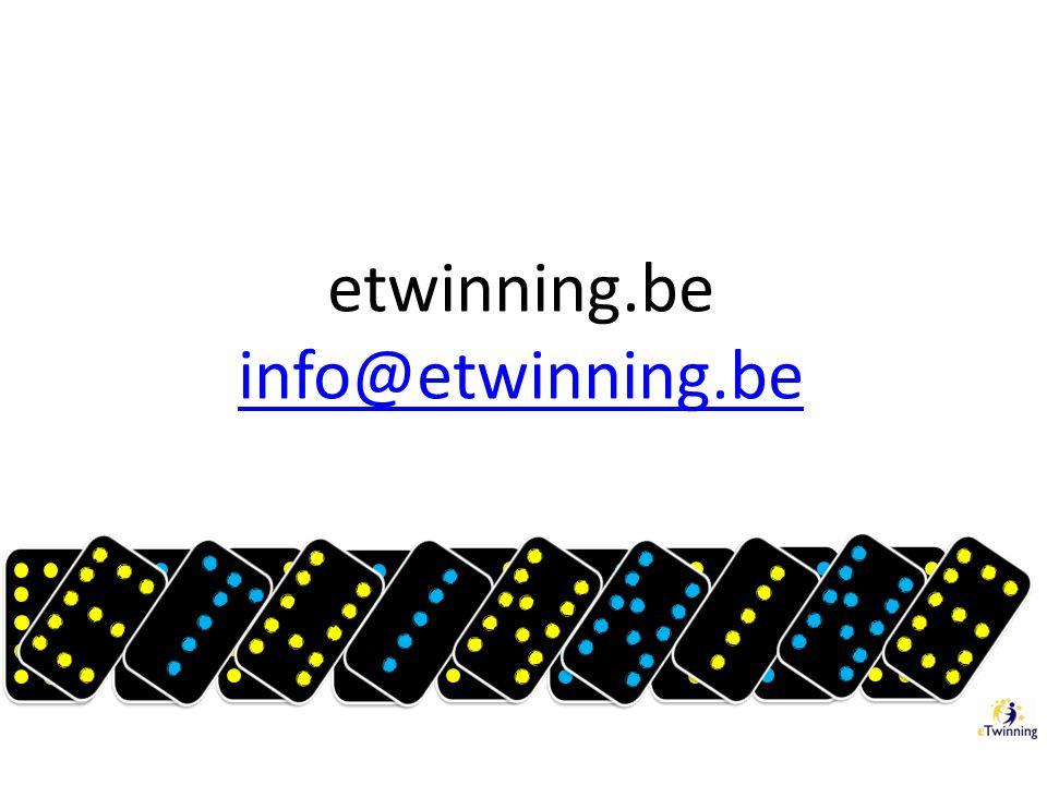etwinning.be info@etwinning.be