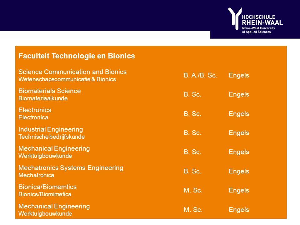 Faculteit Life Sciences AgribusinessB.
