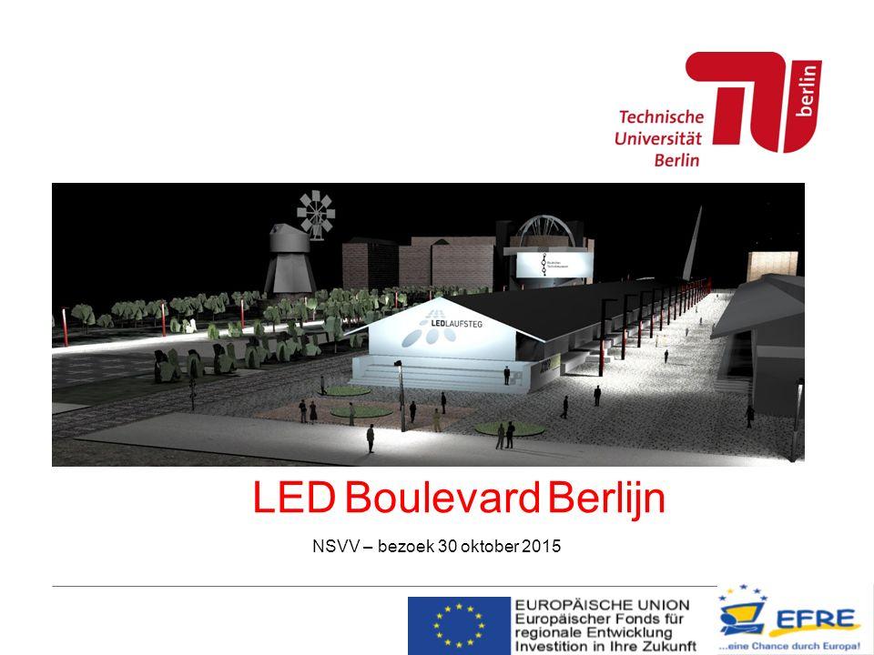 LED Boulevard Berlijn NSVV – bezoek 30 oktober 2015
