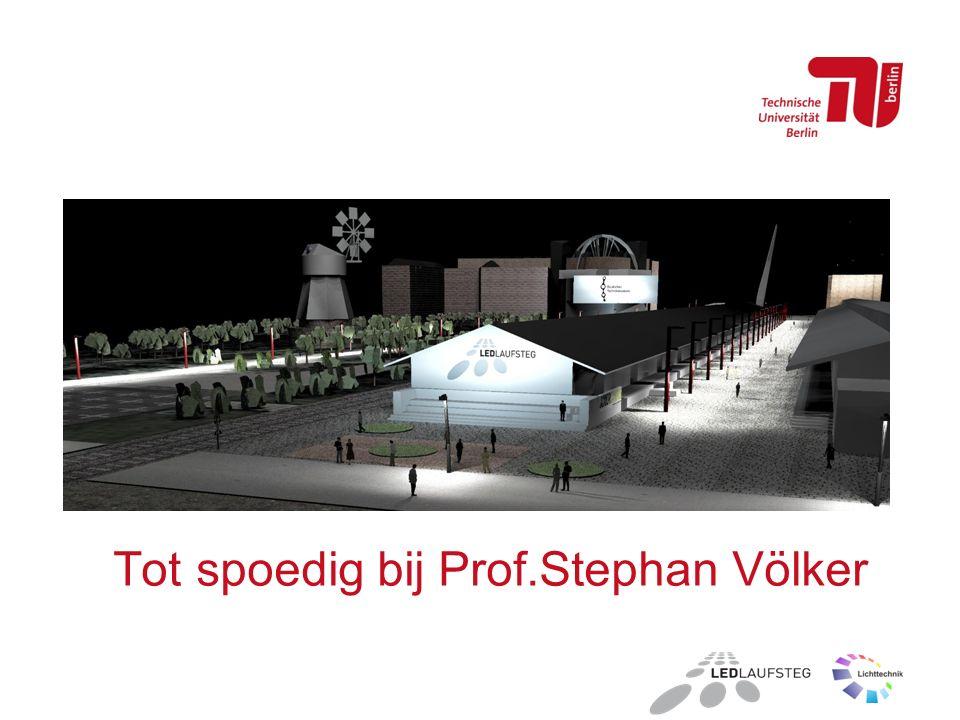 Tot spoedig bij Prof.Stephan Völker