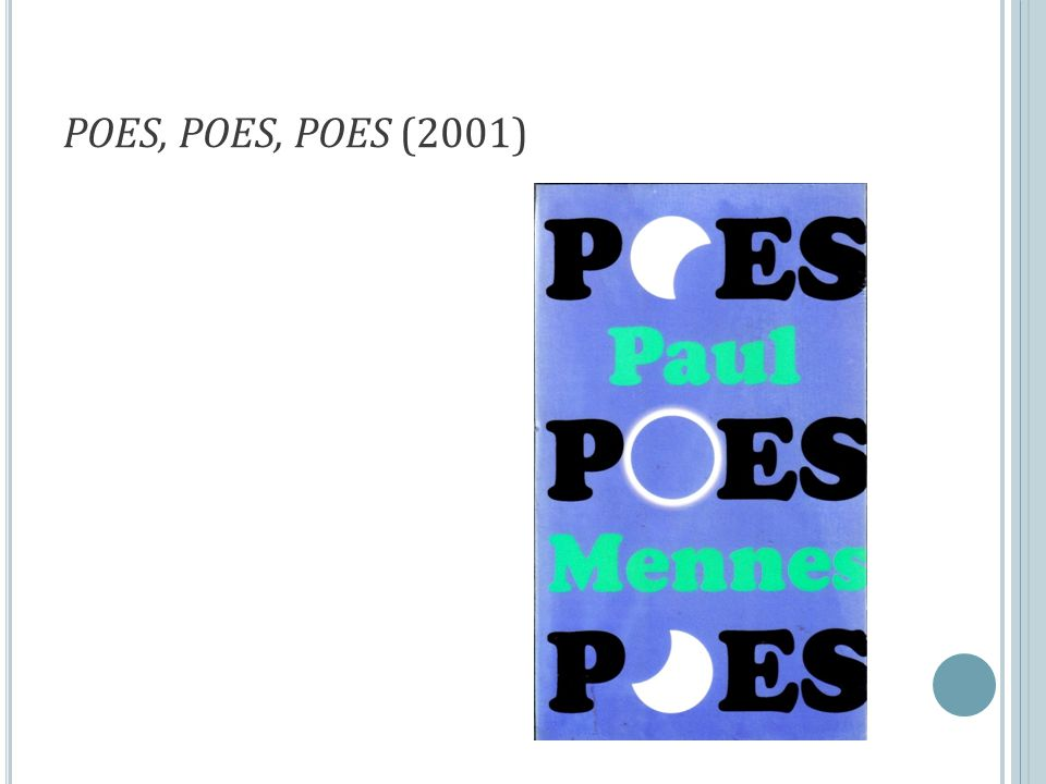 POES, POES, POES (2001)